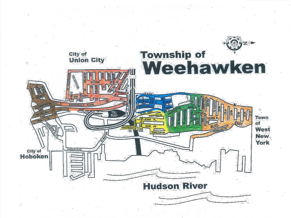 weehawken parking authority Zones – Weehawken Parking Authority